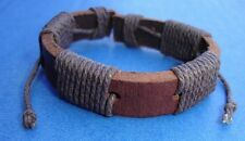 Western Jewelry Decor Handcrafted Leather Bracelet Fully Adjustable To All Sizes