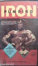 Pumping Iron Arnold Schwarzenegger/ Lou Ferrigno/ Mike Katz Bodybuilding VHS