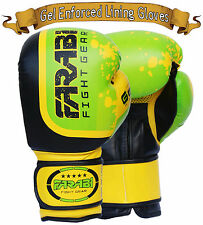 Boxing Gloves 14 Oz Training Punching Sparring Kick Boxing Muay Thai