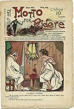 SATIRA-UMORISMO_Il Motto per Ridere_Anno XIX N.419, 1915/20* ill. F. SCARPELLI