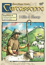 RARE Carcassonne Hills & Sheep Z-Man version Out of PRINT!!!! worth $450! + FREE