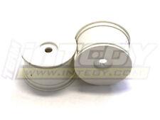 C22678WHITE Integy Dish Wheel 0-Offset (2) for 17mm Monster Truck & 1/8 Truggy