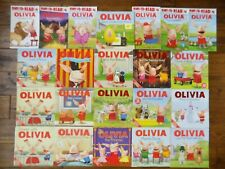 Lot 21 Olivia the Pig Piglet Picture Books by Ian Falconer