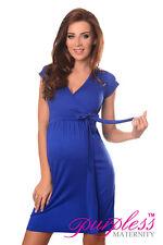 351c3f92680 New MATERNITY COCKTAIL DRESS V-Neck Pregnancy Clothing Wear Size 8 10 12 14  5416