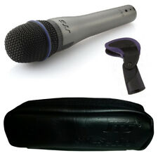 JTS SX-7 Pro Handheld Dynamic Wired Vocal + Instrument Microphone + Clip + Case