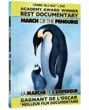 MARCH OF THE PENGUINS BLU RAY+DVD Movie-Brand New Fast Ship(VG-A58062BRD/VG-119)