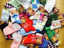 20 pairs luxury ladies womens coloured design socks cotton blend size 4-7  ZXCB