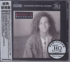 """Kenny G - Breathless"" Sony Japan FORS UHQCD Audiophile CD Limited Numbered New"