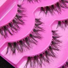 5 Pairs Eye Lashes Demi Wispies Natural Long Thick Soft False Eyelashes TOP
