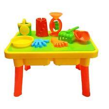 Sandtisch Wassertisch Spieltisch Picknick Tisch Sandkasten Abdeckung + Zubehör