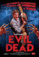The Evil Dead Bruce Campbell Poster Grindhouse Releasing Ash Vs Army Of Darkness