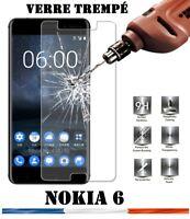 vitre protection verre trempé film protecteur écran pour Nokia 6