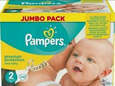 Pampers Size 2 Premium Protection New Baby Jumbo Pack, 3-6kg (68 Nappies)