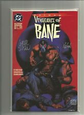 Batman: Vengeance of Bane #1 N/M 9.6 Signed COA First Appearance~ Hot+Movie!!!!