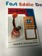 PANINI NBA BASKETBALL 2011 AMAR'E STOUDEMIRE ALL STAR PATCH GAME USED CARD SUNS