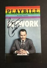 Bryan Cranston Signed Playbill Network Broadway Authentic Autograph Breaking Bad