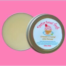 STRAWBERRY FROSTING Scented Handmade Solid Perfume Tin (.5oz)