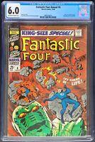 Fantastic Four Annual #6 CGC 6.0 Marvel 1968 Annihilus