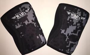WARx Fitness Knee Sleeves: Great for CrossFit Training and Weight Lifting (PAIR)