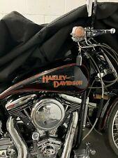 2 Large Old  School Harley Davidson Tank Decals