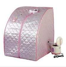 pink portable sauna tent portable SAUNA BOX steam sauna steam generator DDSS-01B