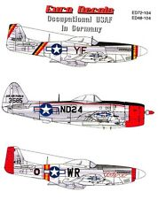 Euro Decals 1/48 U.S. AIR FORCE IN OCCUPIED GERMANY 1945-1948