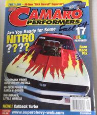 Camaro Performers  Magazine Goodmark Front Suspension Fall 2004 080717nonrh
