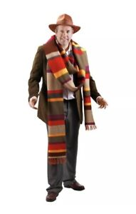 Doctor Who 4th Doctor Knitted 17 Foot Long Premium Scarf Authentic Licensed NEW