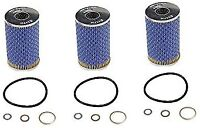 Set of 3 Engine Oil Filter Hengst 0001800009HE For Mercedes W108 W109 W113 W123