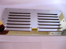 Stainless Steel 230 x 115mm Air Vent Grille Ventilation Cover Wall Duct Louvre