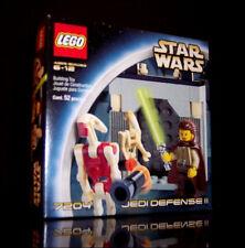 LEGO 7204 JEDI DEFENSE II QUI-GON JINN COMMANDER & SECURITY BATTLE  DROIDS - NEW
