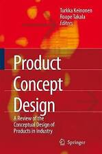 Product Concept Design: A Review of the Conceptual Design of Products in Industr