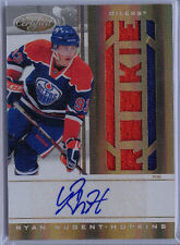 2011-12 CERTIFIED PRIME MIRROR GOLD RYAN NUGENT-HOPKINS JERSEY AUTO #219 /25