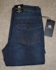 New Rock and Republic Sz 2 Jeans Kasandra Bootcut Studded Flap Pockets Low Rise