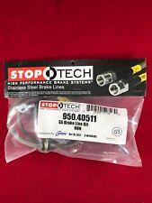 STOPTECH STAINLESS STEEL REAR BRAKE LINE 06-11 HONDA CIVIC 2DR 4DR  950.40511