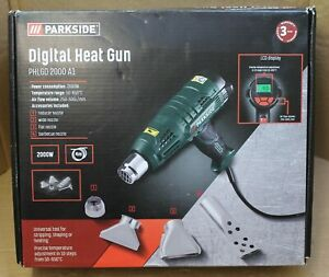 Parkside PHLGD 2000 A1 Digital Heat Gun