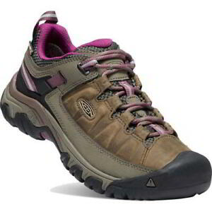 Keen Targhee III WP Womens Ladies Brown Waterproof Walking Hiking Shoes Size 5-8