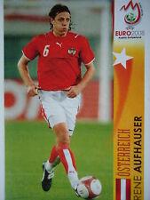 Panini 486 Rene Aufhauser Österreich UEFA Euro 2008 Austria - Switzerland