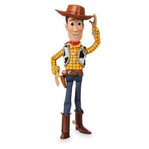 """Disney Woody Interactive Talking Action Figure 15"""" H - Toy Story 4"""