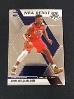 2019-20 Mosaic ZION WILLIAMSON RC NBA Debut #269 New Orleans Pelicans *NV07A