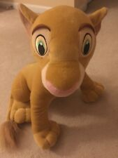 "Large Jumbo 20"" Nala Plush Doll Toy The Lion King Disney Hasbro 2002 Character"