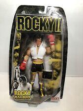 Rocky 2 II Balboa Italian Post Bloody Action Figure Jakks Pacific Series NIB