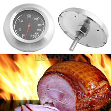 60-430℃ Barbecue Bbq Smoker Grill Stainless Steel Thermometer Temperature Gauge