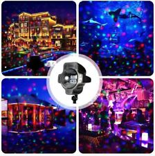Snowfall LED Red Blue Green Projector Light Timer Christmas Lights Decorations