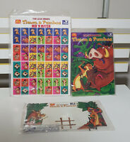 90'S MCDONALDS LION KING PROMOTIONAL TOYS DOMINOES JIGSAW NOUGHTS AND CROSSES