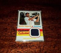 XANDER BOGAERTS RELIC 2020 CLUBHOUSE COLLECTION TOPPS HERITAGE #CCR-XB RED SOX!
