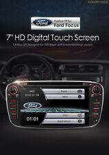 "AUTORADIO GPS FORD FOCUS MONDEO SMAX 7""HD USB SD DVD COMANDI VOLANTE BLUETOOTH"