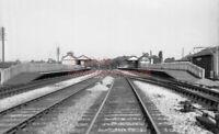 PHOTO  SUDBURY & HARROW ROAD RAILWAY STATION VIEW IN 1957 1