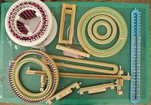 Joblot of mixed knitting looms and accessories