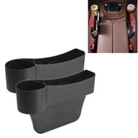 Car Accessories Seat Gap Catcher Filler Storage Box Side Pocket Organizer Holder